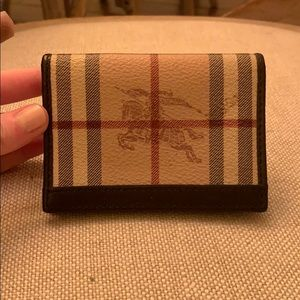 Burberry Card Holder / Small Wallet